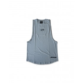 JABGYM JAB Muscle Tank: Frost Grey
