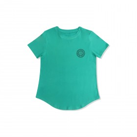 Core Leisure Tee SS: Turquoise