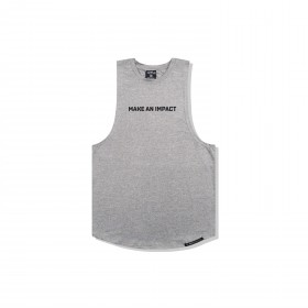 JABGYM JAB Muscle Tank: Heather Grey