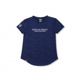 JABGYM Camo (Female): Navy Blue SS
