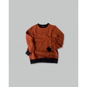 Crewneck Sweatshirt - Burnt Orange