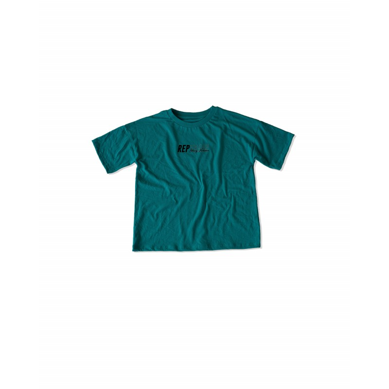 REPTRAIN: Stay Home SS Turquoise